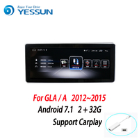 YESSUN Android Radio Car Screen Player For Benz GLA / CLA 2013~2015 stereo radio multimedia GPS navigation with WIFI Bluetooth