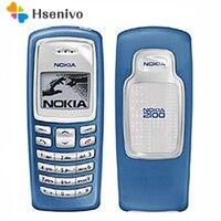 100% Оригинальный разблокированный телефон Nokia 2100 GSM 2G 680 mAh дешевый отремонтированный бар сотовый телефон Бесплатная доставка