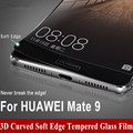 YGOS Brand For Huawei Mate 9 Mate 9 5.9 inch Tempered Glass + Carbon Fiber Soft Edge Full Screen Coverage film 3D Curved Mate 9