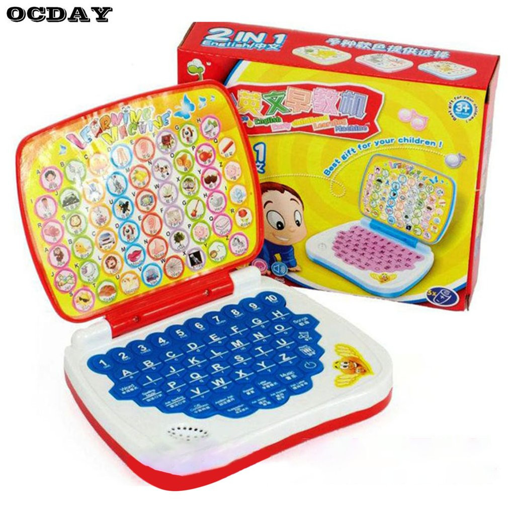 Multifunctional Bilingual Learning Machine For Kids Baby Early Educational Toy Kids Computer Toy Children Gift Developmental Toy