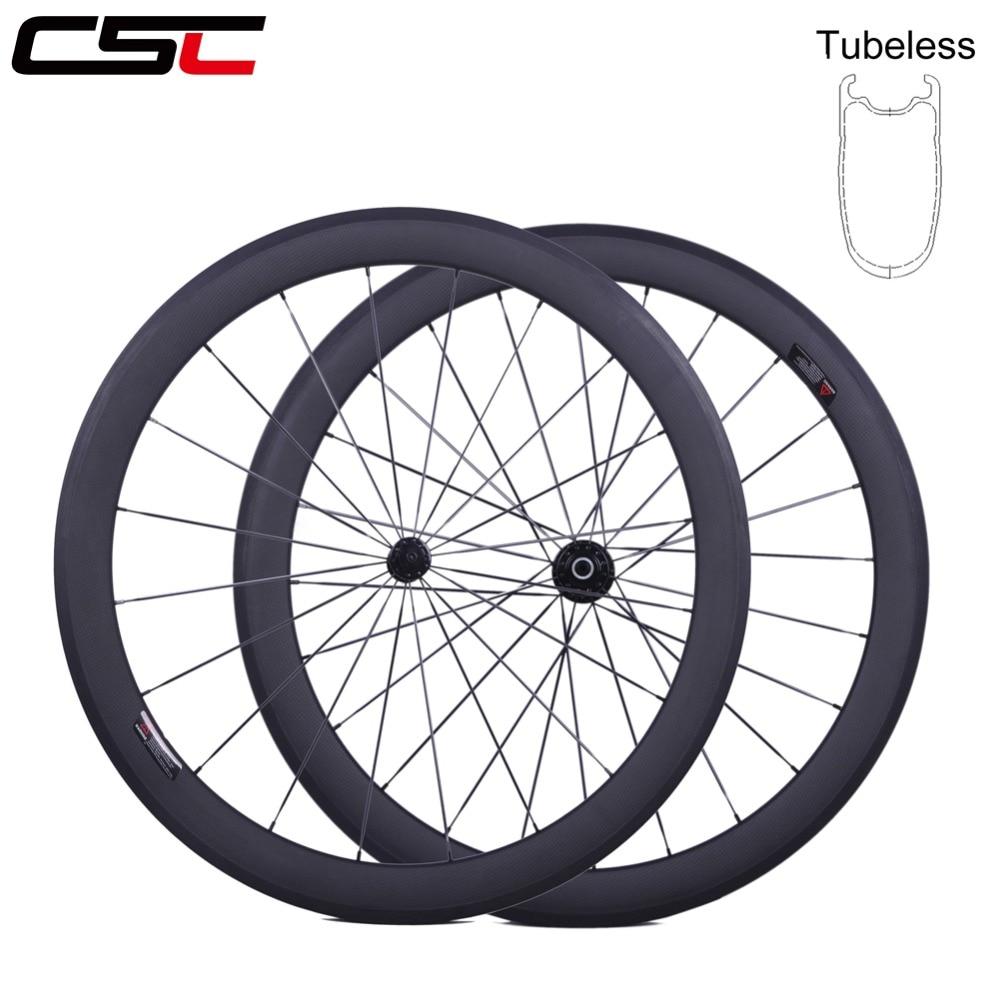 CSC700C bike carbon wheelset 38//50//60//88mm clincher//tubular//tubeless road wheels