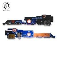 100% Original Power & Volume & Audio jack port board For Lenovo Yoga 3 11 11.6 Micro SD card board Replacement Repair LS B921P