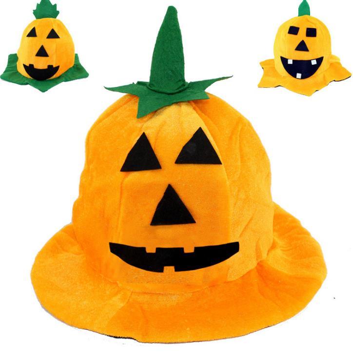 Halloween Supplies Ghost Festival Masquerade Performance Pumpkin Hat Children Party Hat Toy