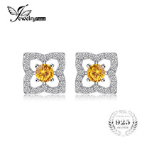 JewelryPalace Lotus F Lower 0.7ctรอบสีส้มสร้างไพลิน