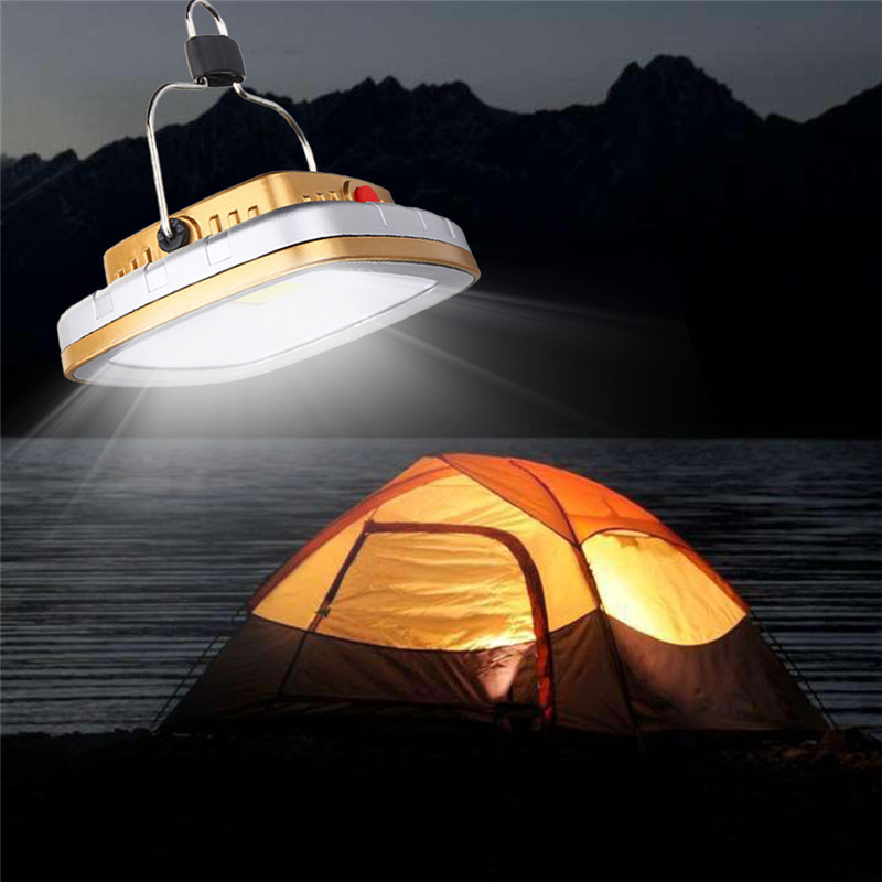 NEW Solar Powered Led Camping Light 3W 300lm USB Rechargeable LED Solar Light Outdoor Garden Night Lamp Tent Lantern Lamp