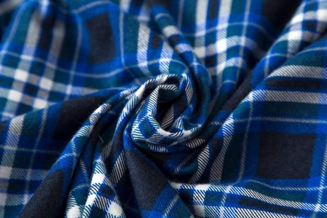 Men's Plaid Cotton Pajamas