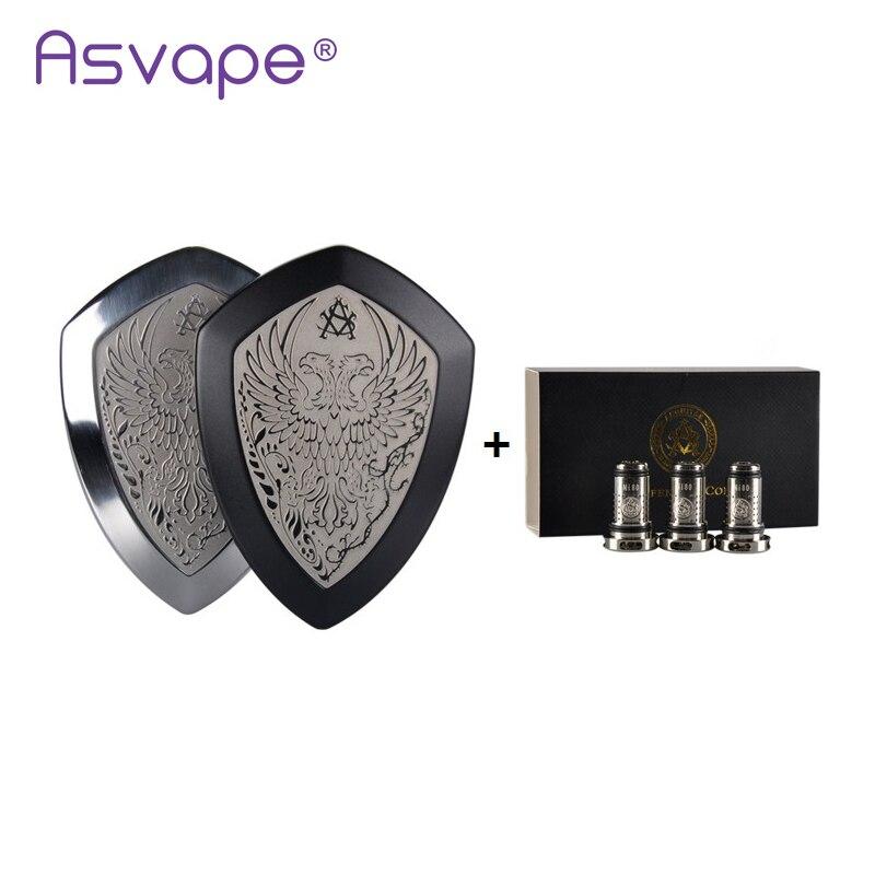 Kit de Vape Original Asvape Defender tout-en-un Ecigs 1200 mAh batterie intégrée Kit de Vape vaporisateur Mod Vape vapeur VS Justfog minifit