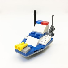 Discount! 2525 KapllEarly education digital Blocks chase police boat Block toy Brick ABS Toy racing locomotive car Exploiter block 8colour