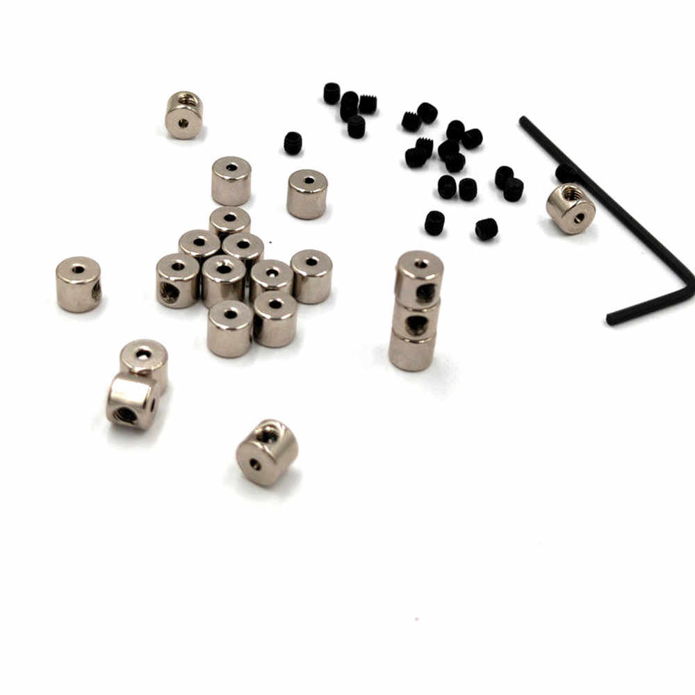 Silver Pin Locks,20 Pieces Metal Locking Pin Keepers Backs Replacement Pin Backs Clasp for Badges Insignia Name Tags Display Books Lanyards Bags Vests Hats