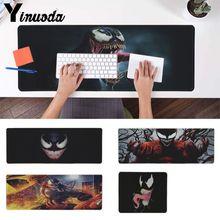 Yinuoda Boy Gift Pad Marvel Venom Comfort Mouse Mat Keyboard Gaming pad Large Mousepad Grande Gamer Mice mat