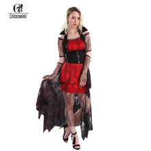 rolecos vampire enchantress spider witch halloween women cosplay clothing unisex cosplay costume size free sexy dresses - Spider Witch Halloween Costume