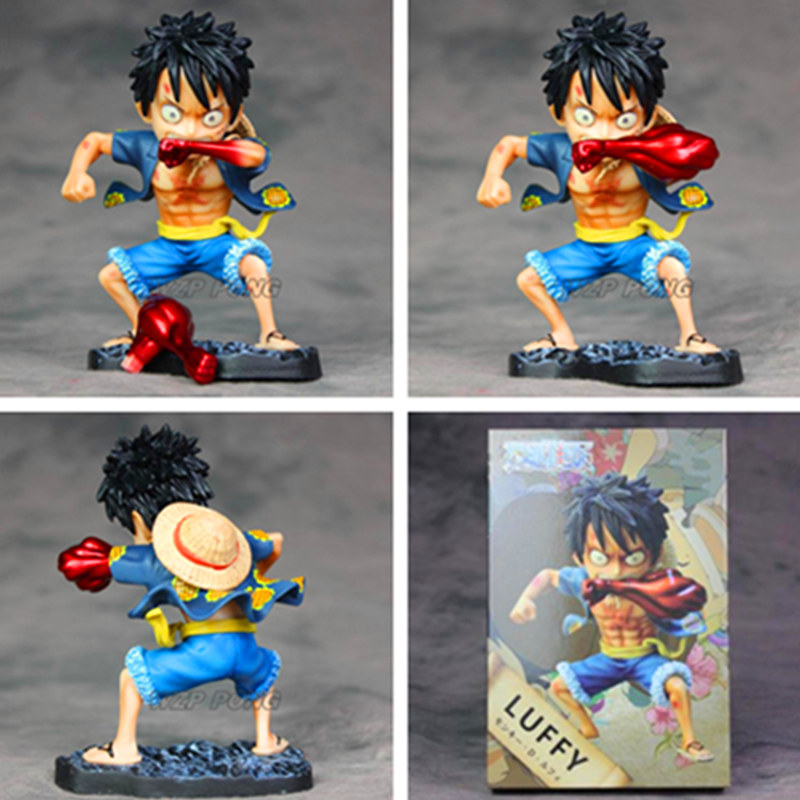New Anime One Piece Luffy <font><b>Transform</b></font> Gear <font><b>4</b></font> figure <font><b>Toy</b></font> PVC Monkey D Luffy action figure Model <font><b>Toys</b></font> for Children Birthday Gift image