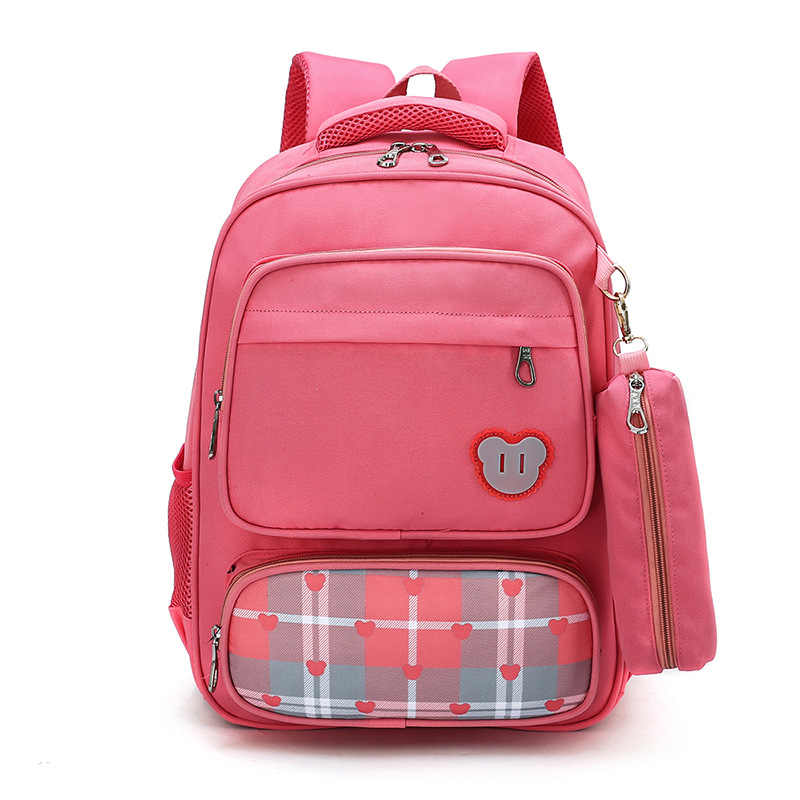 Bolsas escolares para niños niñas niños dibujos animados mochila impermeable mochilas escolares Escuela Primaria mochila infantil