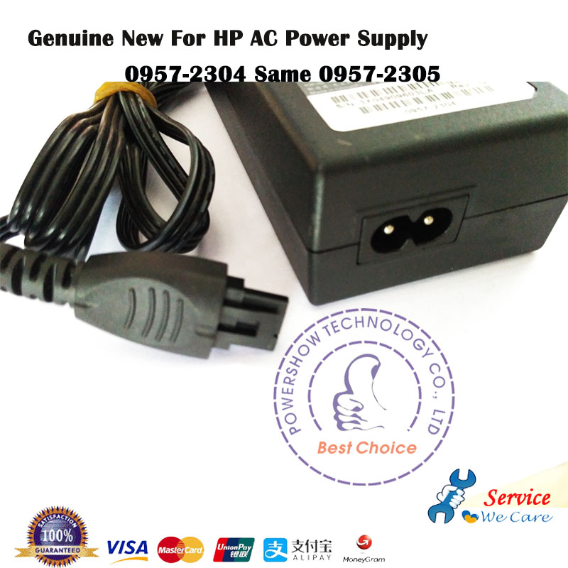 Generic AC Adapter Power For HP Photosmart Premium Fax All-in-One C410c Printer