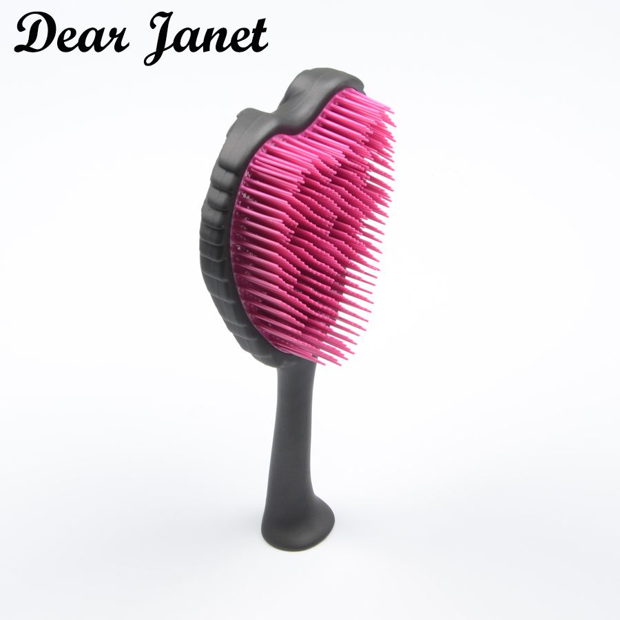 s hair styling brush fashion hair brush combs handle salon styling tool 24cm 4477
