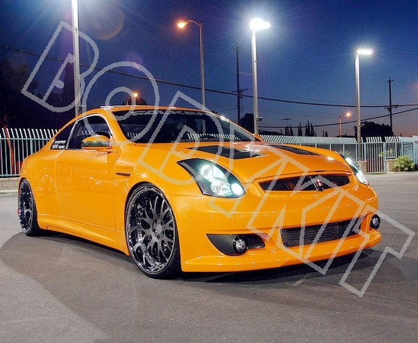 03 07 G35 Coupe 350gt Front Bumper Mesh Grill Grille In Racing