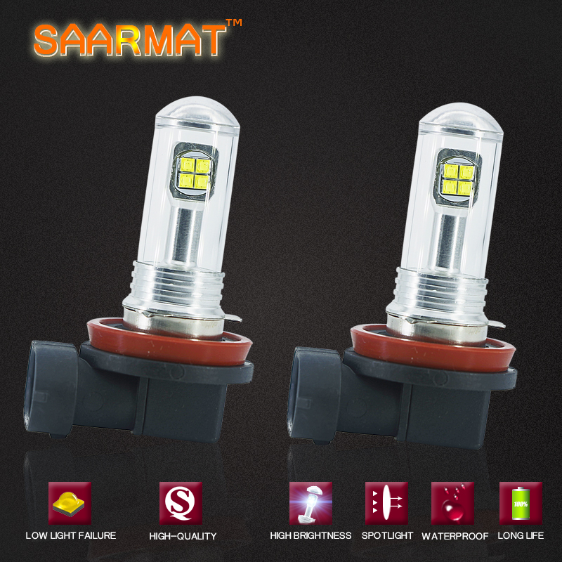 2x LED H11 H8 No error Fog Lamp DRL Headlight  For BMW 3/5-Series 328i 335i E39 525 530 535 540 E46 E60 E61 E9 E92 E93 F10 X3 F2 mikado fishunter 2 съедобная резина 11 5 см 328 уп 3 шт