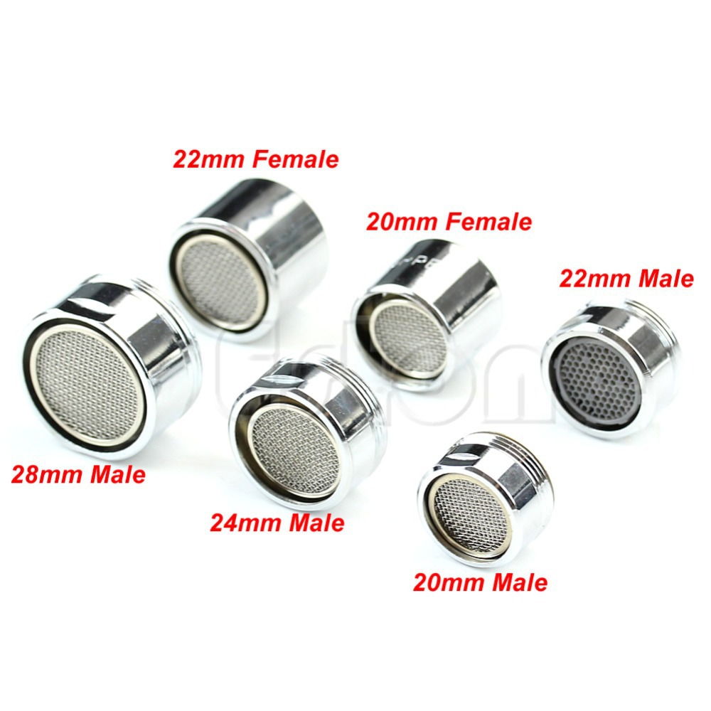Water Saving Kitchen Faucet Tap Aerator Chrome Male/Female Nozzle Sprayer Filter