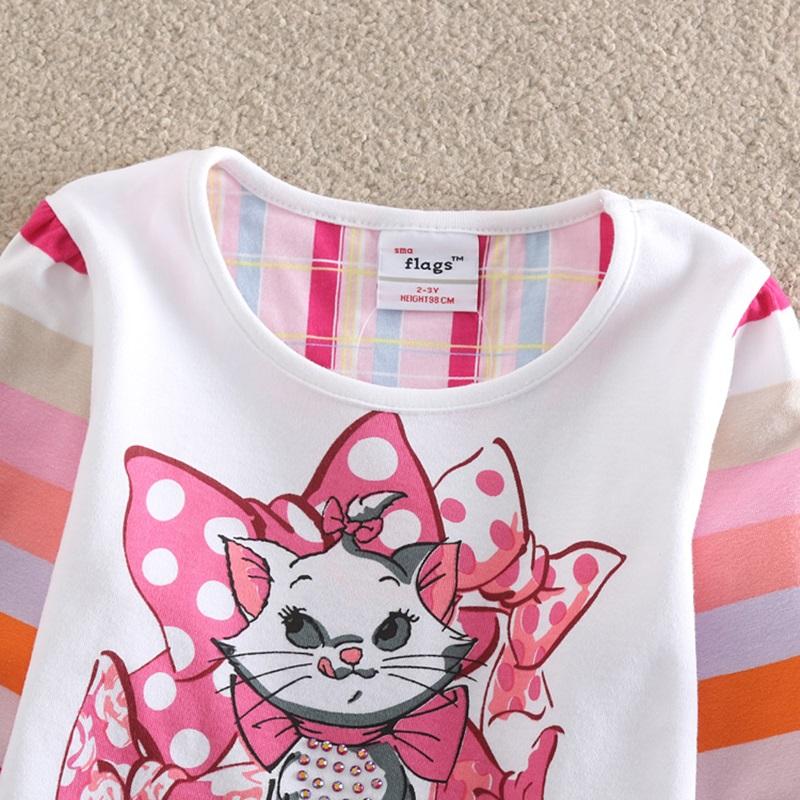 HTB1qw22SFXXXXbLaXXXq6xXFXXX6 - Girls Long Sleeve All Year T-Shirt, Long Sleeve, Cotton, Various Designs and Prints