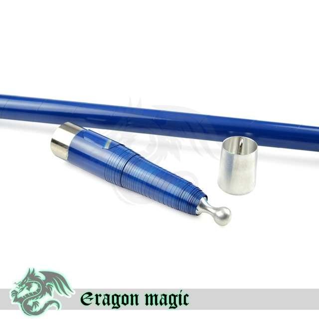 Vanish Cane Free Shipping Magic Tricks Magia Trick Toy Stage Magie Metal Color Blue