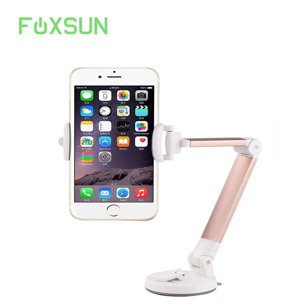 Phone Mount Holder Windshield Dashboard Desktop Foldable Universal Car Mobile Phone Cradle with Strong Suction Cup