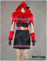 Pokemon Team Magma Gal Cosplay Costume H008