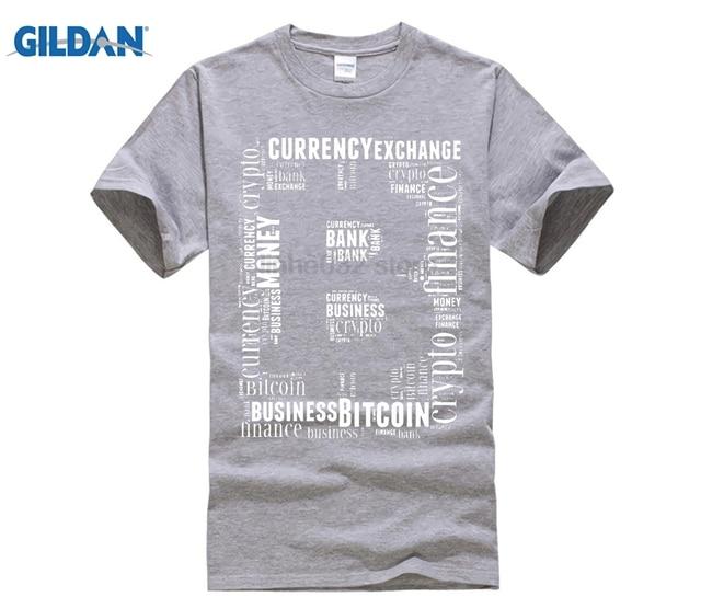 95d97309d GILDAN T Shirts Bitcoin Logo Word Art Graphics Tee Shirts Teenage Round  Collar Short Sleeve T-Shirt High Quality Men's Big Size