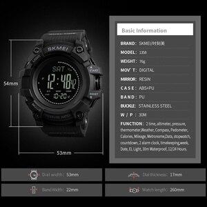 Image 4 - SKMEI Merk Mens Sport Horloges Uur Stappenteller Calorieën Digitale Horloge Hoogtemeter Barometer Kompas Thermometer Weer Mannen Horloge
