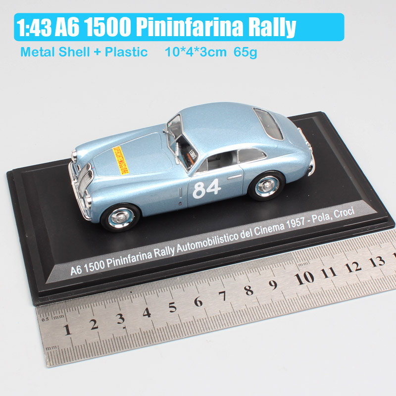 kid 39 s 1 43 Scale classic A6 1500 Pininfarina rally 1957 grand tourers racer No 84 Pola Croci Berlinetta diecast model cars Toys in Diecasts amp Toy Vehicles from Toys amp Hobbies