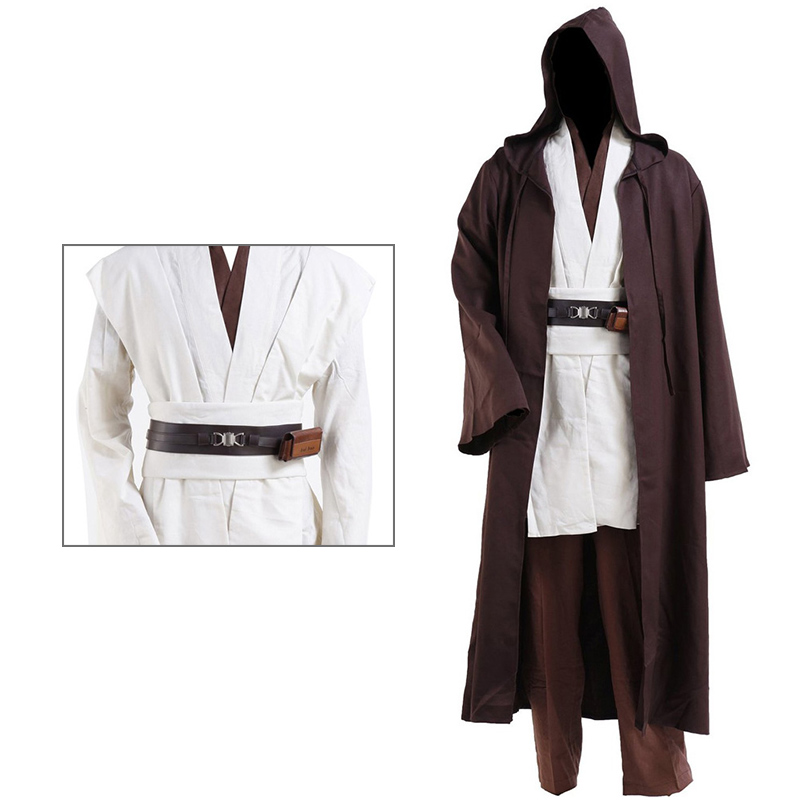 Adulte Luke Costume cosplay Halloween Déguisement Robe Manteau Tailles S//M//L//XL//2XL//3XL