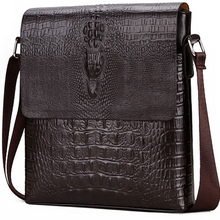 men briefcase bag Crocodile messenger bags for crossbody shoulder Alligator male ipad Tablet PC IPAD handbag mens