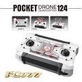Micro bolsillo dron fq777-124 kvadrokopter conmutable controlador mini drone rtf 4ch 6 axis gyro rc helicóptero quadcopter kids toys