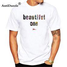 Antidazzle New 2018 Summer Men Punk T Shirt Beautiful London Building Sign  Printed Casual Short Sleeve White T-shirt