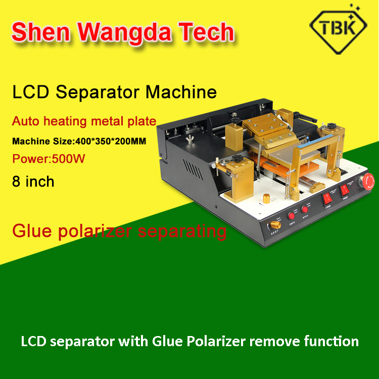 TBK-938 LCD Touch Screen Split Machine Automatic lcd separator with glue polarizer remove