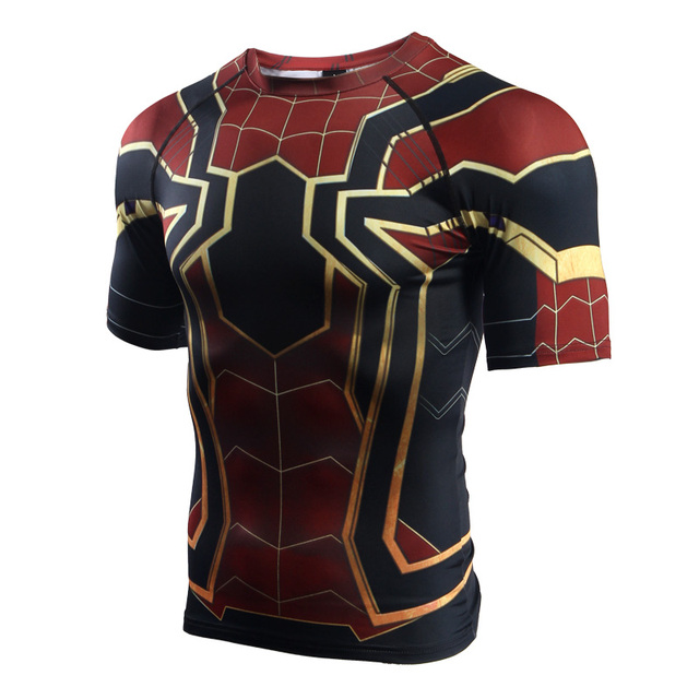 Spiderman Short Sleeve Compression T-Shirt