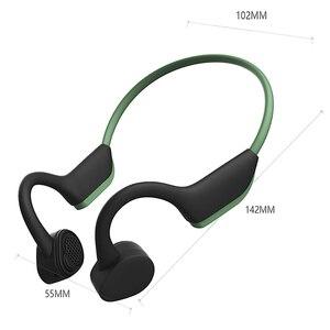 Image 5 - Bluetooth 5.0 S. ללבוש אלחוטי אוזניות הולכה עצם אוזניות חיצוני ספורט אוזניות עם מיקרופון דיבורית אוזניות