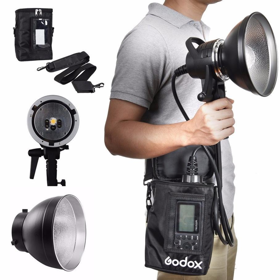 Godox AD-H600 PB600 AD-R6 Portable Off-Camera Flash SET for Godox AD600B AD600BM godox ad h600b hand held extension head for ad600b ad600bm wireless flash strobe bowens mount