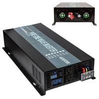 Most Advanced LED Display 4000W 12V 220V Full Power House Hold High Frequency Power Inverter Pure