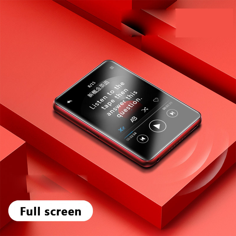 Cootoo Portátil Tela Cheia Walkman Estudante Versão Mp4 Mp5 Pequeno Ultra-fino Cartão Mp6 Liberação Externa t9 8g