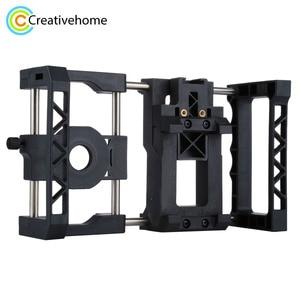 Image 1 - El sabitleyici evrensel taşınabilir ayarlanabilir cep telefonu kafes kiti ile iPhone, Samsung ve diğer akıllı telefonlar için
