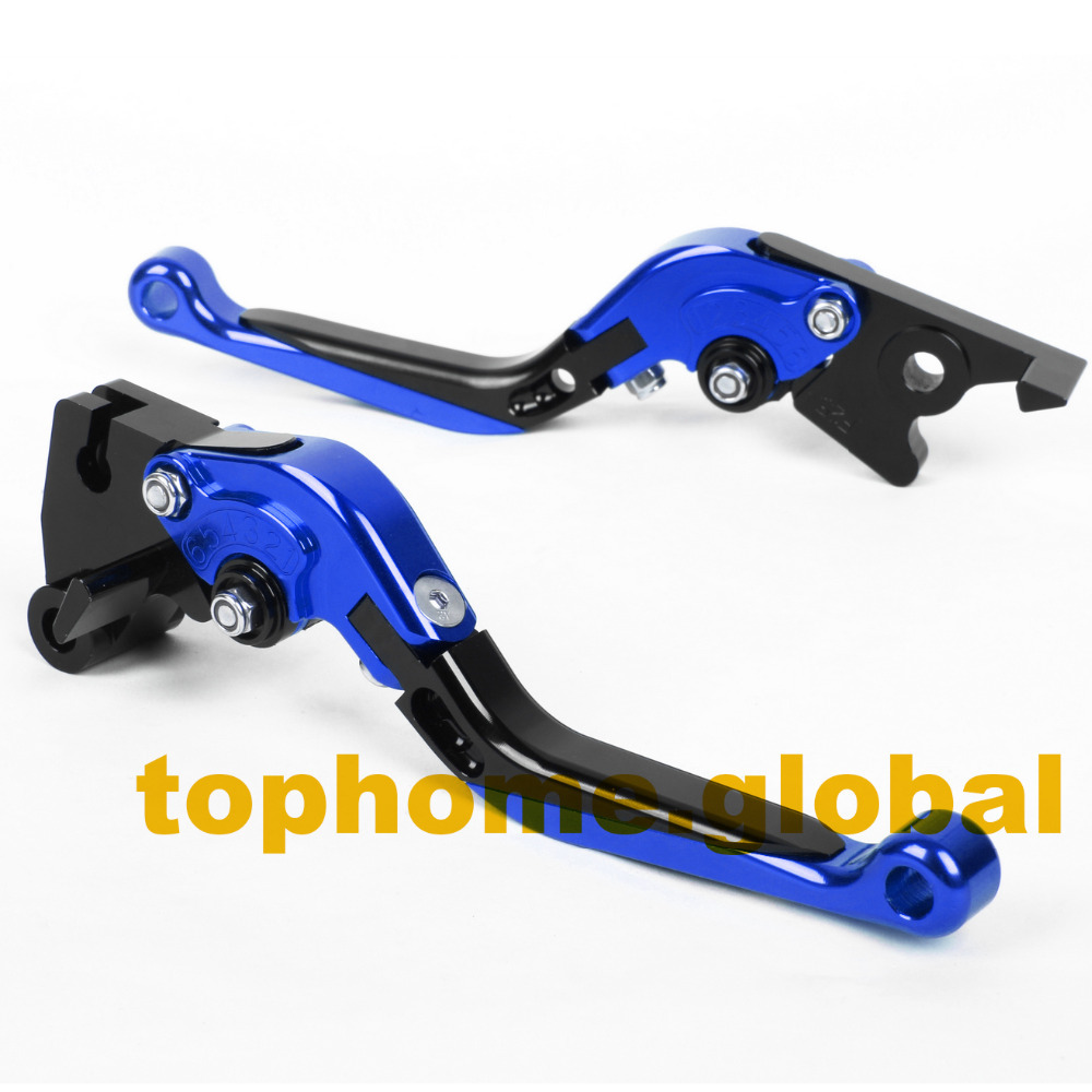 For Yamaha YZF R15 2008 - 2014 CNC Foldable Extendable Brake Clutch Levers Folding Extending 2009 2010 2011 2012 2013 cnc folding extendable brake clutch levers for yamaha yzf r1 2009 2010 2011 2012 2013 2014