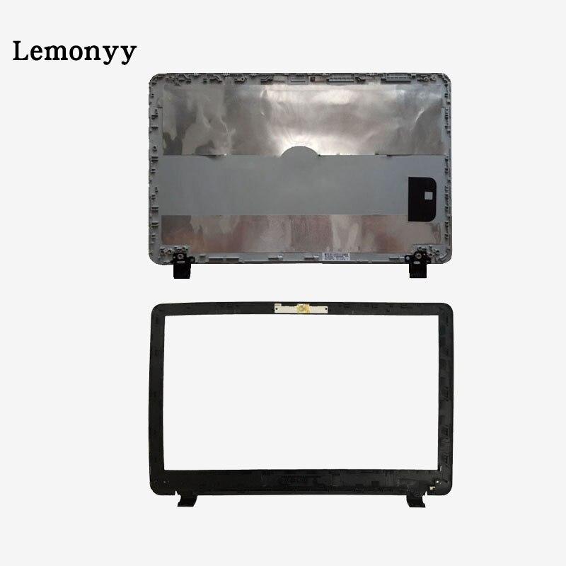 Novo portátil lcd tampa de cobertura de tela superior/lcd moldura frontal para hp probook 350 g1 350 355 g1 g2 758055-001