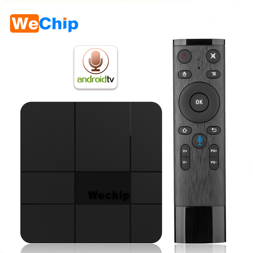 Wechip V8 Plus Voice Control Smart Android 7.1 TV BOX Amlogic S905W 2G 16G Android TV OS Set Top Box Support 4K DH Media PlayerWechip V8 Plus Voice Control Smart Android 7.1 TV BOX Amlogic S905W 2G 16G Android TV OS Set Top Box Support 4K DH Media Player