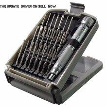 NANCH 22-en-1 juego de destornilladores de precisión magnético, S2 de acero kit de herramientas de reparación para el iphone/ordenador/electrónica/portátiles