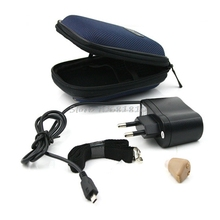 Rechargeable Acousticon In Ear Hearing Aid Aids Audiphone Sound Amplif EU Plug