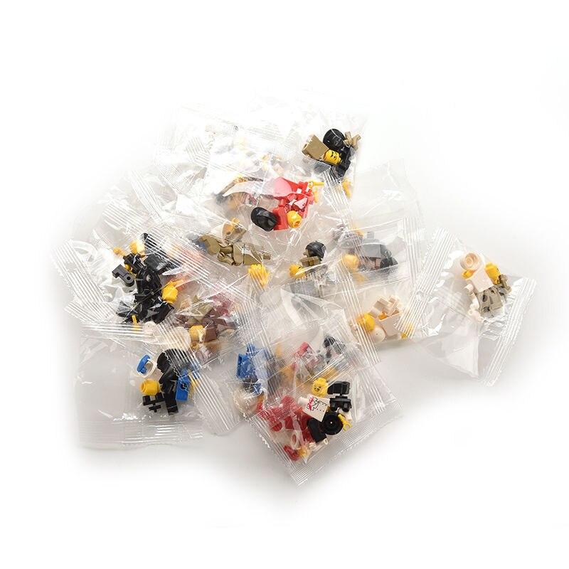 20 шт мульти-Цвет оригинальная игрушка из мужчин людей мешком подарок случайный пластик Детский плащ-дождевик для мальчиков Игрушки