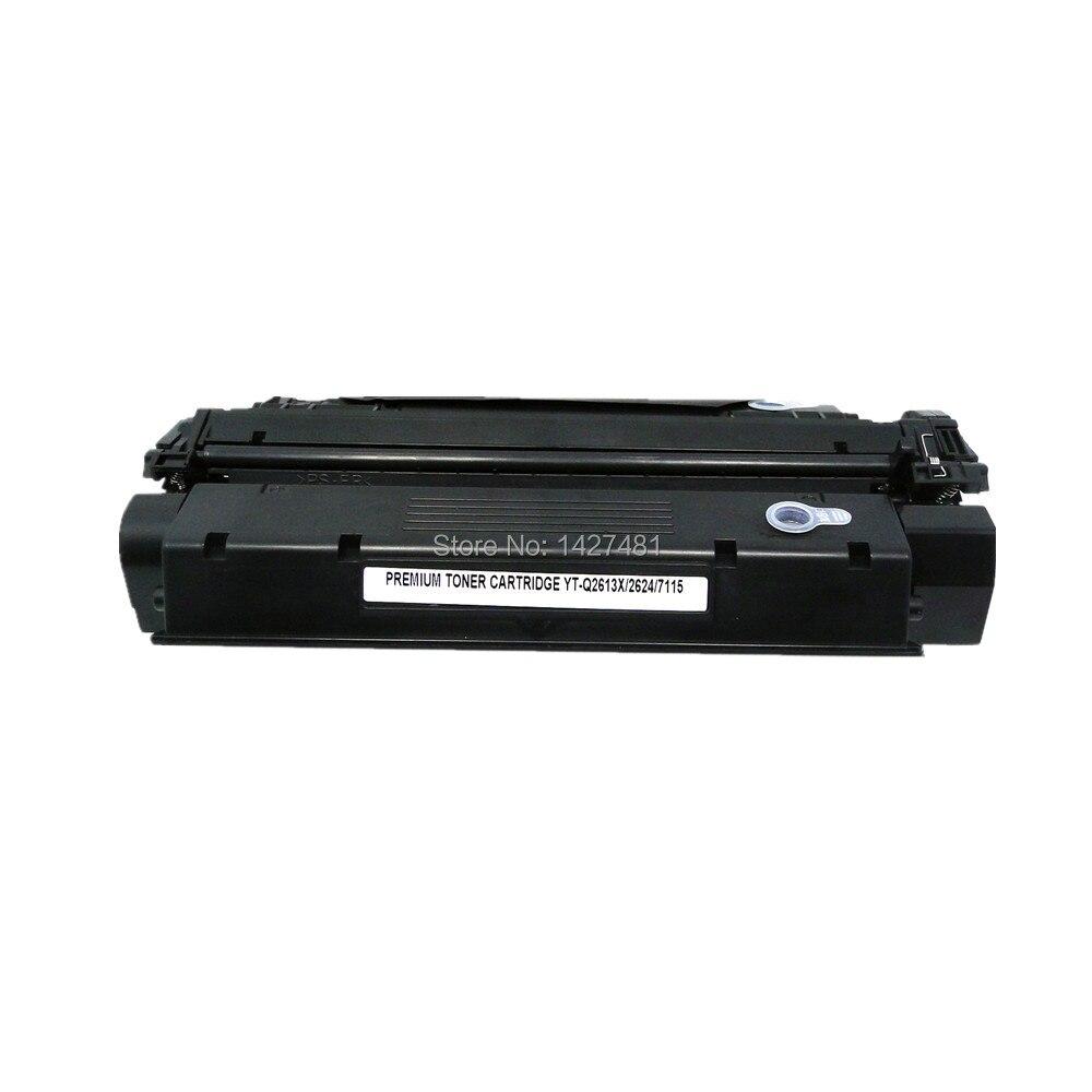 Q2613X 13X Refillable toner cartridge for HP LaserJet 1000 1005 1200 1220 Printer Series for Canon  LBP-1210 compatible toner cartridge for hp c7115x lasterjet 1000 1005 1200 1220 3300 3310 3320 3330 3380 for canon lbp 1210 russian stock