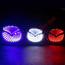 3D Car Led Logo Light Auto Badge Sticker Rear font b Emblem b font Tail Lamp