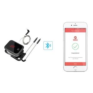 Image 4 - Inkbird Digitale Koken Bluetooth Draadloze Grill Vlees Oven Bbq Voedsel Thermometer C/F Met 2 Rvs Probes En gratis App