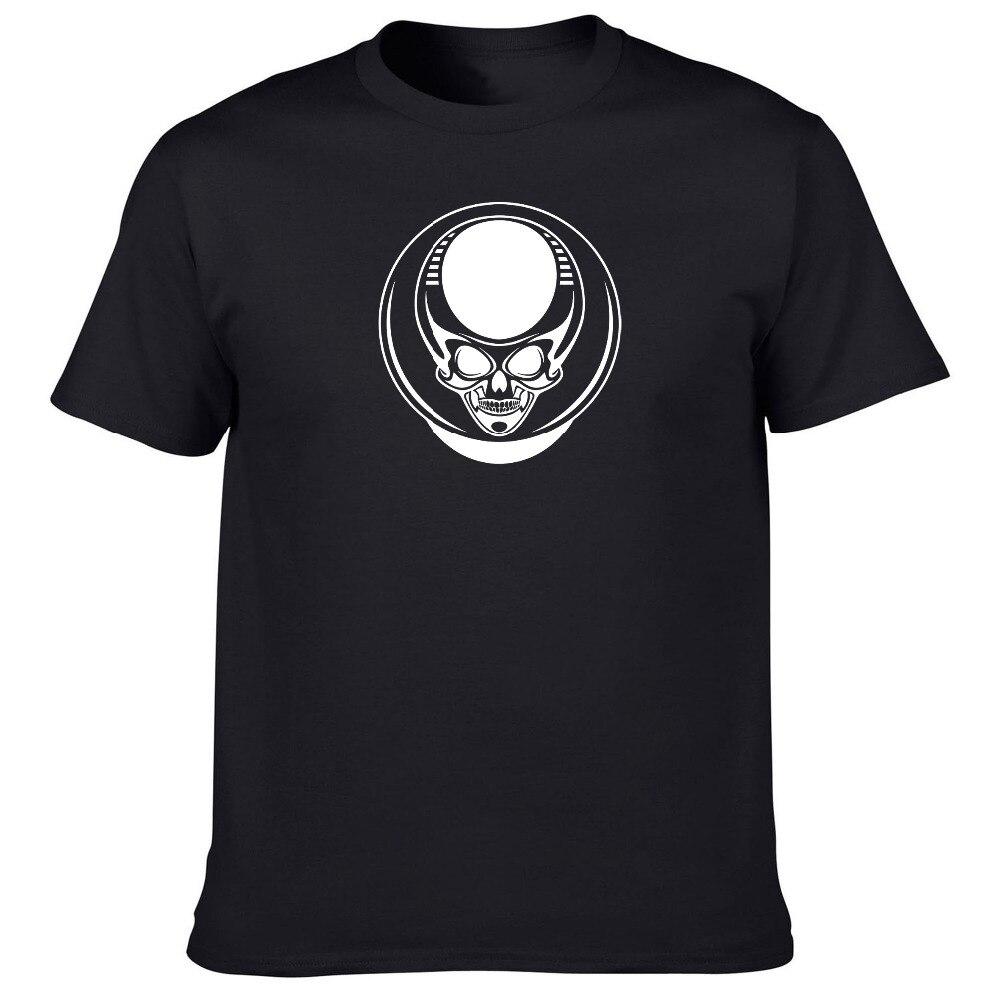 men 39 s most popular item diy tops tees short sleeve t shirt custom alien skeleton crew neck. Black Bedroom Furniture Sets. Home Design Ideas